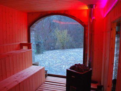 Sauna Finlandese Stufa A Legna | Aufguss